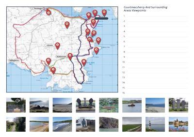 Walking Treasure Hunt Map