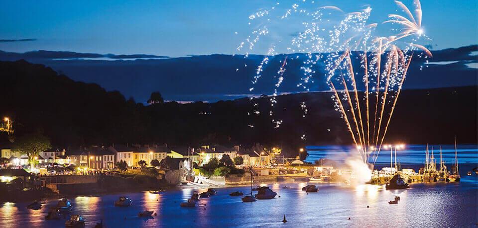 harbour fireworks courtmacsherry west cork hotel