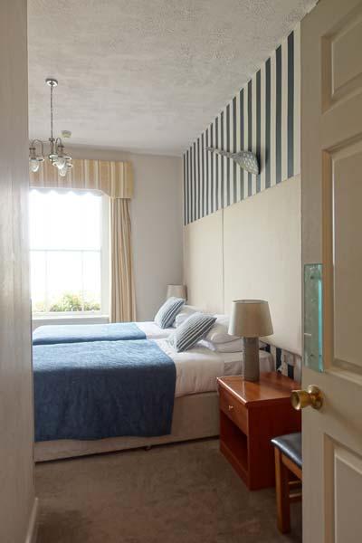 twin room sea view